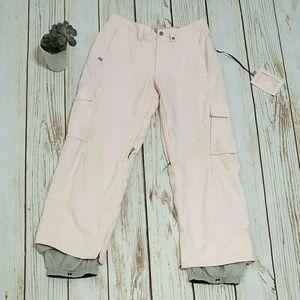 Burton Rose Pink Snowboarding Ski Pants | Small